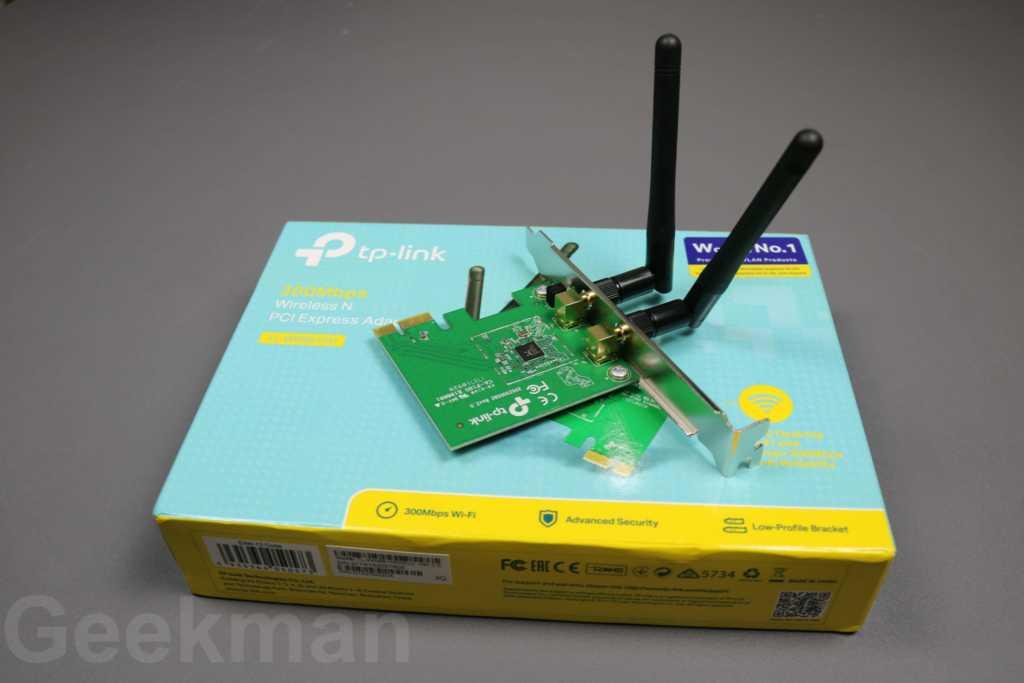 TP-LINK TL-WN881ND Wireless N300 PCI