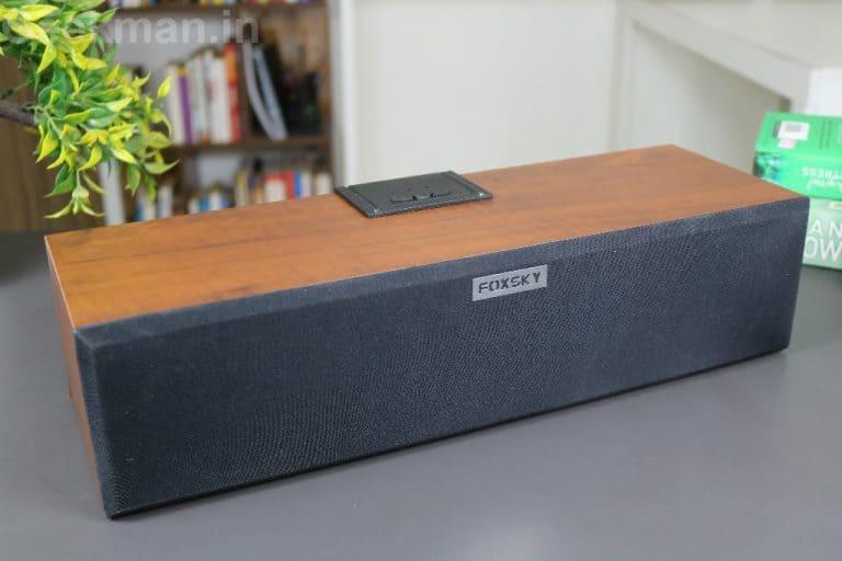 FOXSKY FS 101 Portable Bluetooth Speaker Review