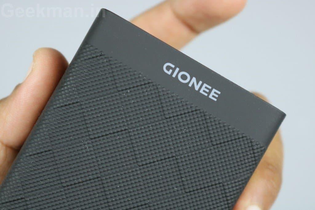 Gionee 10000 mAh Power Bank
