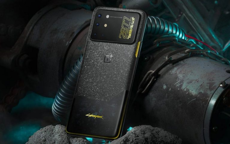Oneplus 8T Cyberpunk 2077 Limited Edition Smartphone Launched, Much Better Than The Original One.
