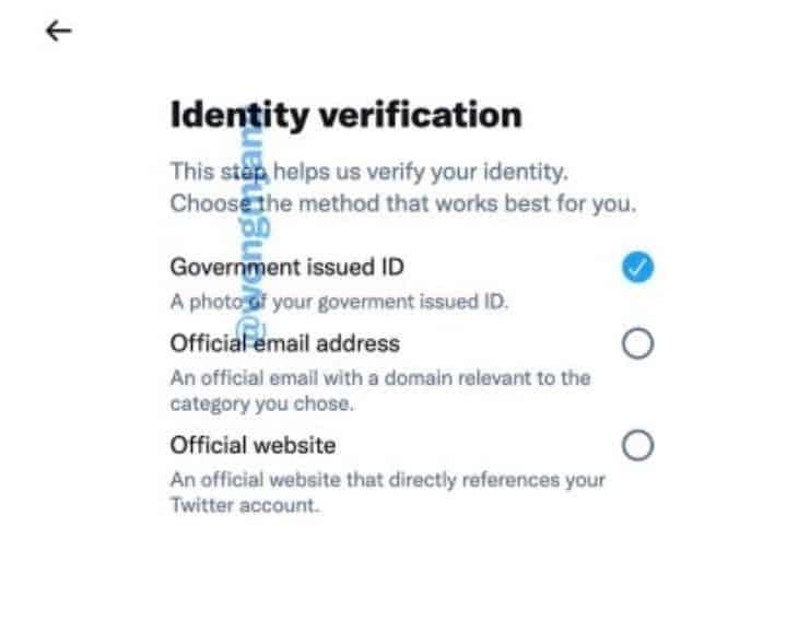 Twitter Verification 2021