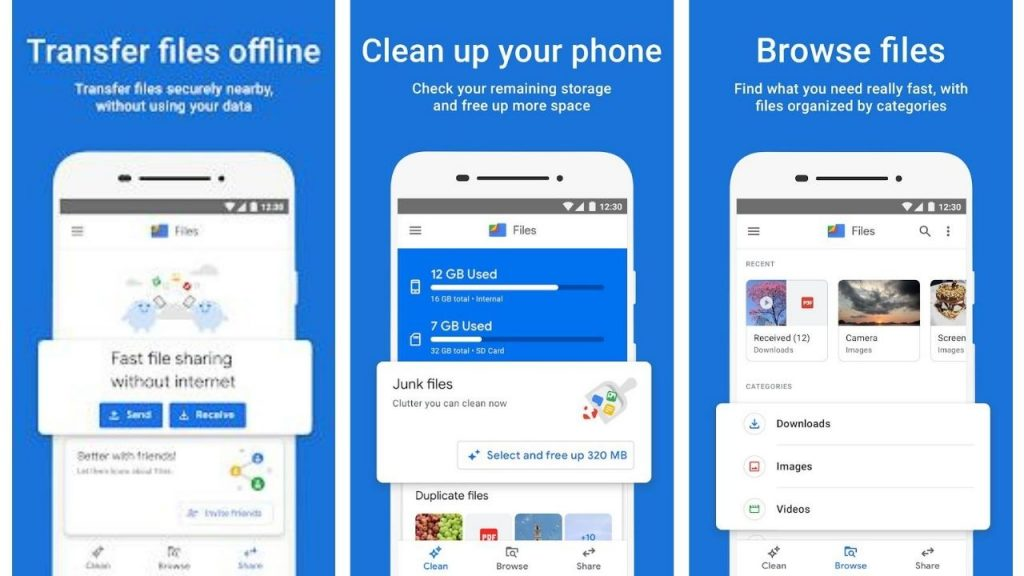 Files By Google - Best file managers for android