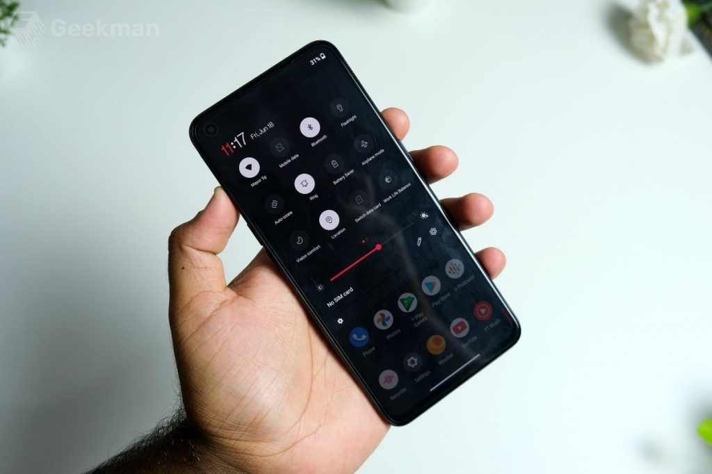 OnePlus Nord CE software