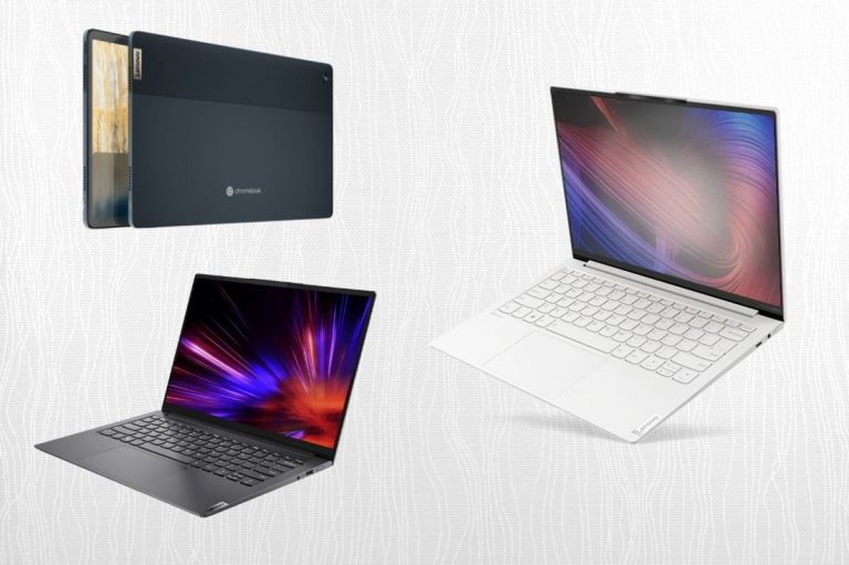 Lenovo Launched New Yoga Slim Series Laptops and 2-in-1 Chromebook